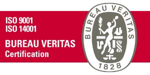 Logo certificazioni ISO